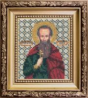 Набор для вышивки бисером Чарівна Мить Б-1032 Икона святой мученик Леонид