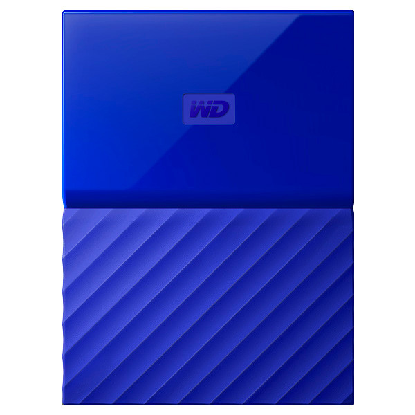 Внешний жёсткий диск WD My Passport WDBBEX0010BBL-EEUE 1TB