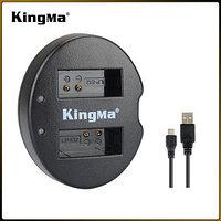 LP-E12. Двойное зарядное устройство KingMa для Canon