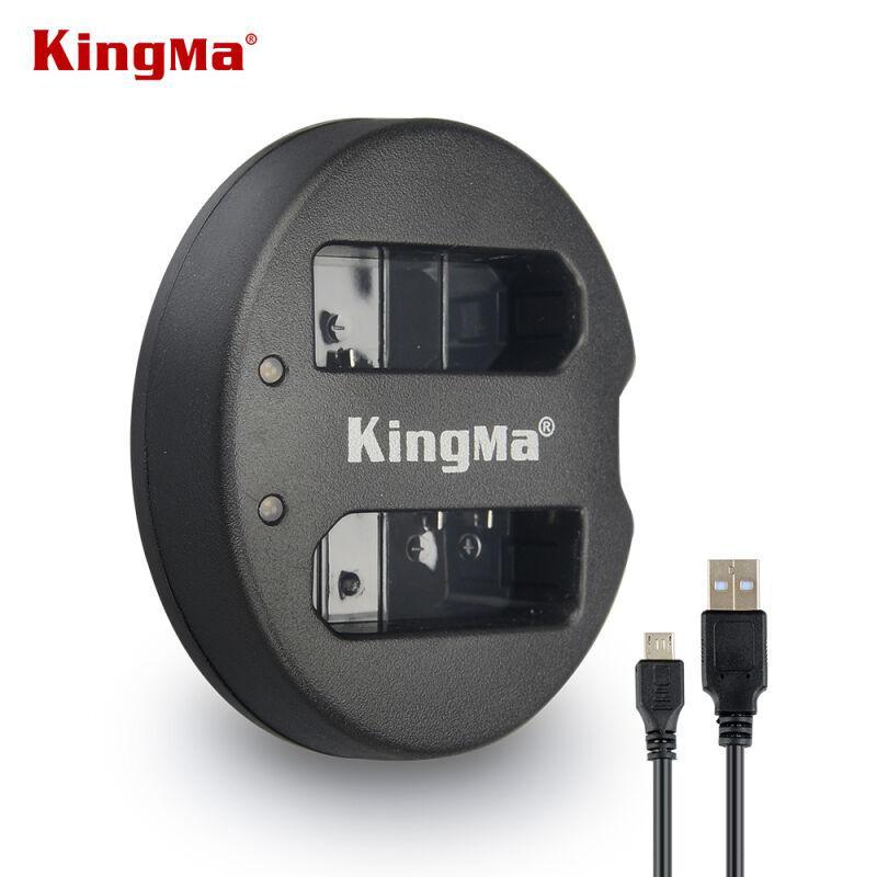 EN-EL14. Двойное зарядное устройство KingMa для Nikon