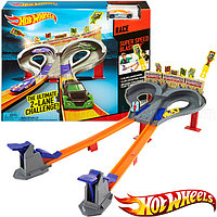 HOT WHEELS Трек «Безумные гонки» Super Speed Race