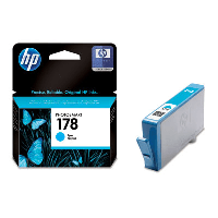 Картридж HP HP  Cyan Ink Cartridge №178 for PhotoSmart C6383/8553/D5463/C5383, up to 250 pages