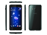 Смартфон HTC U11 EEA Brilliant Black, 5.5'' 2560x1440, 2.45GHz, 8 Core, 4GB RAM, 64GB, up to 2TB flash, 12Mpix/16Mpix, 2 Sim, 2G, 3G, LTE, BT, Wi-Fi,
