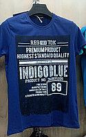 Мужская футболка HIGHLANDER Indigo Blue Турция
