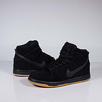 Кроссовки Nike SB Dunk High Black Gum