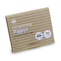 THE FACE SHOP Матирующая бумага DAILY BEAUTY TOOLS OIL BLOTTING PAPER 70 шт