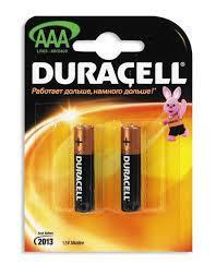 Батарейка Duracell,NH Basic AAA 2шт