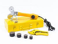 Аппарат для сварки пластиковых труб DWP-750, 750Вт, 0-300 град., 4 насадок, 20 - 40 мм DENZEL
