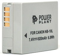 Аккумулятор PowerPlant Canon NB-10L 920mAh