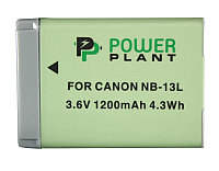 Аккумулятор PowerPlant Canon NB-13L 1200mAh