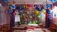 Украшение шарами в детском саду