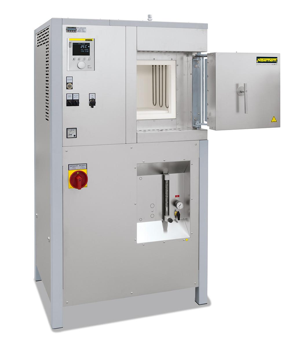Высокотемпературная печь с волокнистой изоляцией HT 04/17