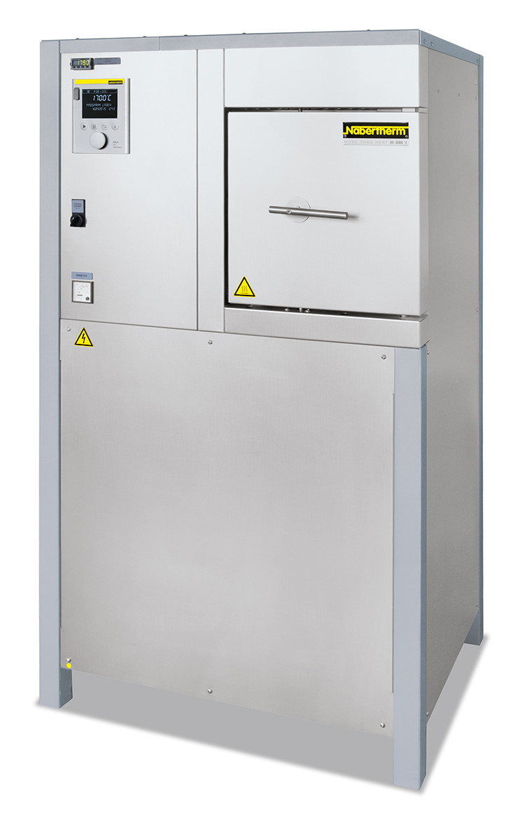 Высокотемпературная печь с изоляцией огнеупорным  кирпичом HFL 16/16