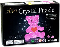 3D Crystal Puzzle Bear, 41pcs Пазл Мишка, 41 деталь, фото 1