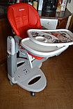 Детский стульчик для кормления Peg-Perego Tatamia Follow Me Fragola, фото 5