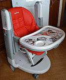 Детский стульчик для кормления Peg-Perego Tatamia Follow Me Fragola, фото 6