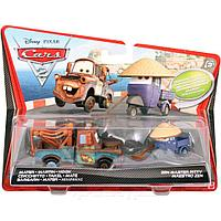 Cars 2 Mattel Mater and Zen Master Pitty Тачки 2 Мэтр и Мастер Питти, фото 1