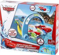 Cars Mattel World Grand Prix Splash Speedway Тачки Трек для ванной Скоростной заплыв с машинкой, фото 1