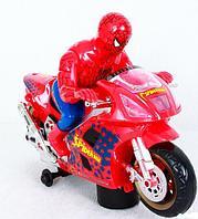 Chuang Xing Motorcycle Spider Man Мотоцикл Человек Паук, звук, свет, движение