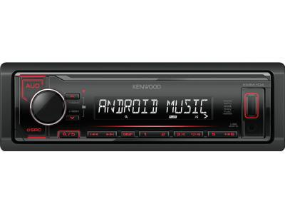 Автомагнитола Kenwood KMM 104 Red