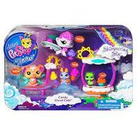 Littlest Pet Shop Fairies Shimmering Sky Candy Cloud Cafe Set, Hasbro Кафе Конфетное облако с феями, фото 1