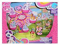 My little Pony Ponyville, Hasbro Игровой набор Колесо обозрения с мини-пони