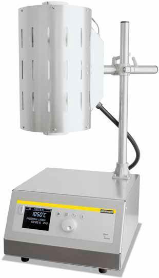 Трубчатая печь со штативом для горизонтального и вертикального режимов RT 50-250/13
