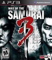 Way of the Samurai 3 ( PS3 )