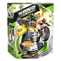 Игровой набор Нано-Трек Spin Master Nano Speed Moto Meltdown Track Set с одним Нано-Мотоциклом, фото 1