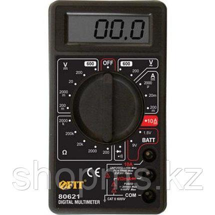 Мультиметр 0,1мВ-600В; 0,1В-600В; 1мкА-10А; 0,1Ом-2МОм; короб., фото 2