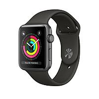 Смарт-часы Apple Watch Series 3, 38mm Space Grey Aluminium Grey Sport Band (MR352GK/A)