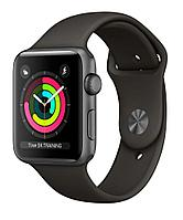 Apple Watch Series 3 GPS, 42mm Space Grey Aluminium Case with Grey Sport Band (MR362FS/A)