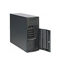 Сервер Supermicro Mid-Tower MB X9SCL/733TQ-665B