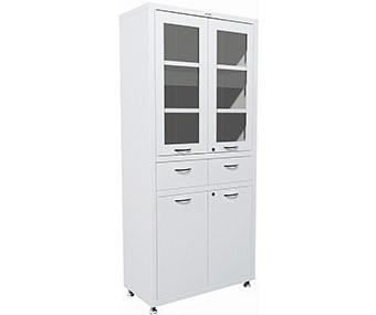 Медицинский шкаф двухстворчатый MD 2 1780R-1 (1850х800х400 мм)