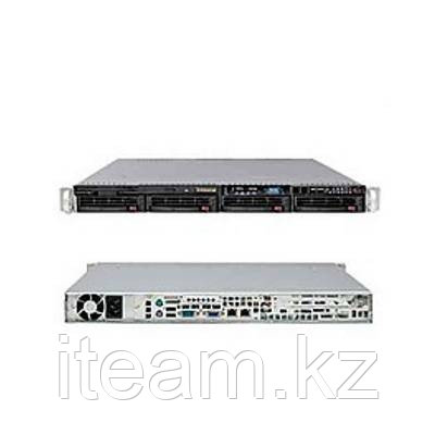 Сервер Supermicro 1U MB X9DBL-iF/813MTQ-350CB