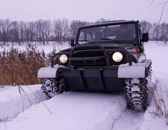 Снегоболотоход УХТЫШ ЗВМ-2410
