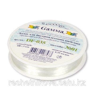 """""""GAMMA"""" Леска для бисеропл. DF-035 d 0.35мм 100 м"""