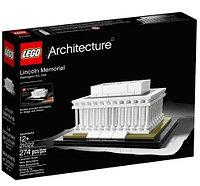LEGO Architecture Мемориал Линкольна