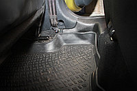 "Накладки на ковролин задние Рено Сандеро Степвей | Renault Sandero Stepway (2 шт.) ""АртФорм "" с  2014 г.в."