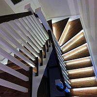 Монтаж Автоматической подсветки лестницы, фото 1