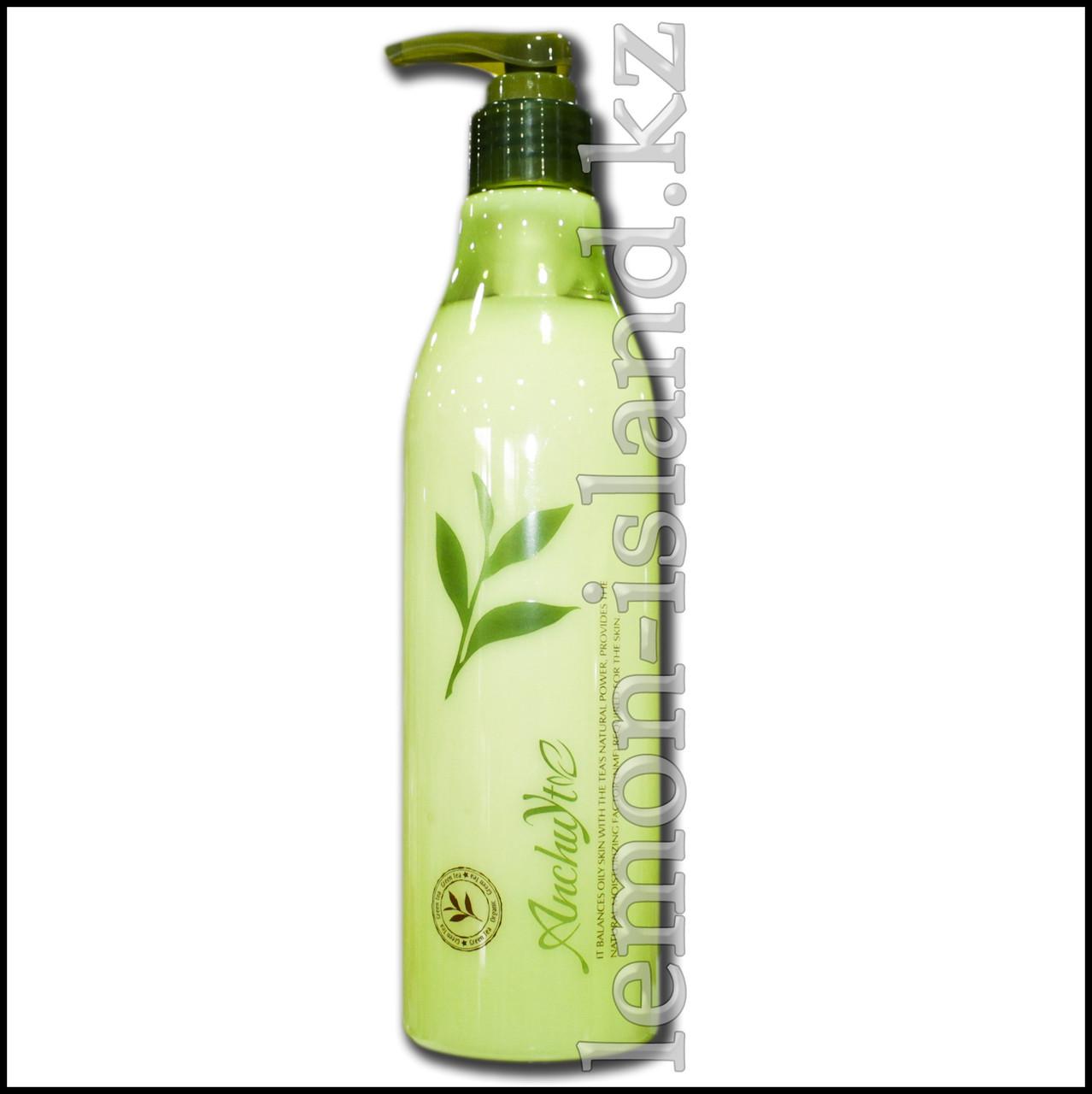 Молочко для тела увлажняющее с экстрактом зелёного чая (Таиланд).