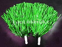 Помпоны для чирлидинга большие (зеленые)