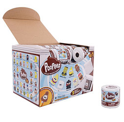 Мини-набор с 2 фигурками Poopeez - Туалетная бумага, 1 серия