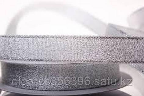 Лента парча серебро(ширина 15 мм). Creativ 830 - 1