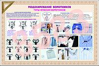 Плакаты моделирование воротников, фото 1