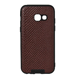 Чехол для Samsung Galaxy A3 (2017) A320 back cover NX Case Ascot Series Croco Leather Brown