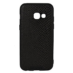 Чехол для Samsung Galaxy A3 (2017) A320 back cover NX Case Ascot Series Croco Leather Black