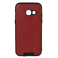 Чехол для Samsung Galaxy A3 (2017) A320 back cover NX Case Ascot Series Croco Leather Red