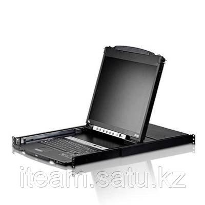 "LCD-KVM консоль ATEN CL5816N (19"" LCD / 16 портов (SPHD-17) Под заказ 2-4 недели)"