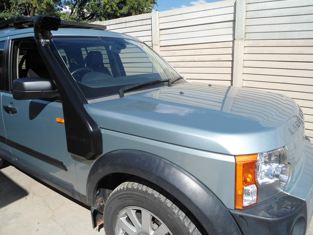 Land Rover Discovery III шноркель- T4